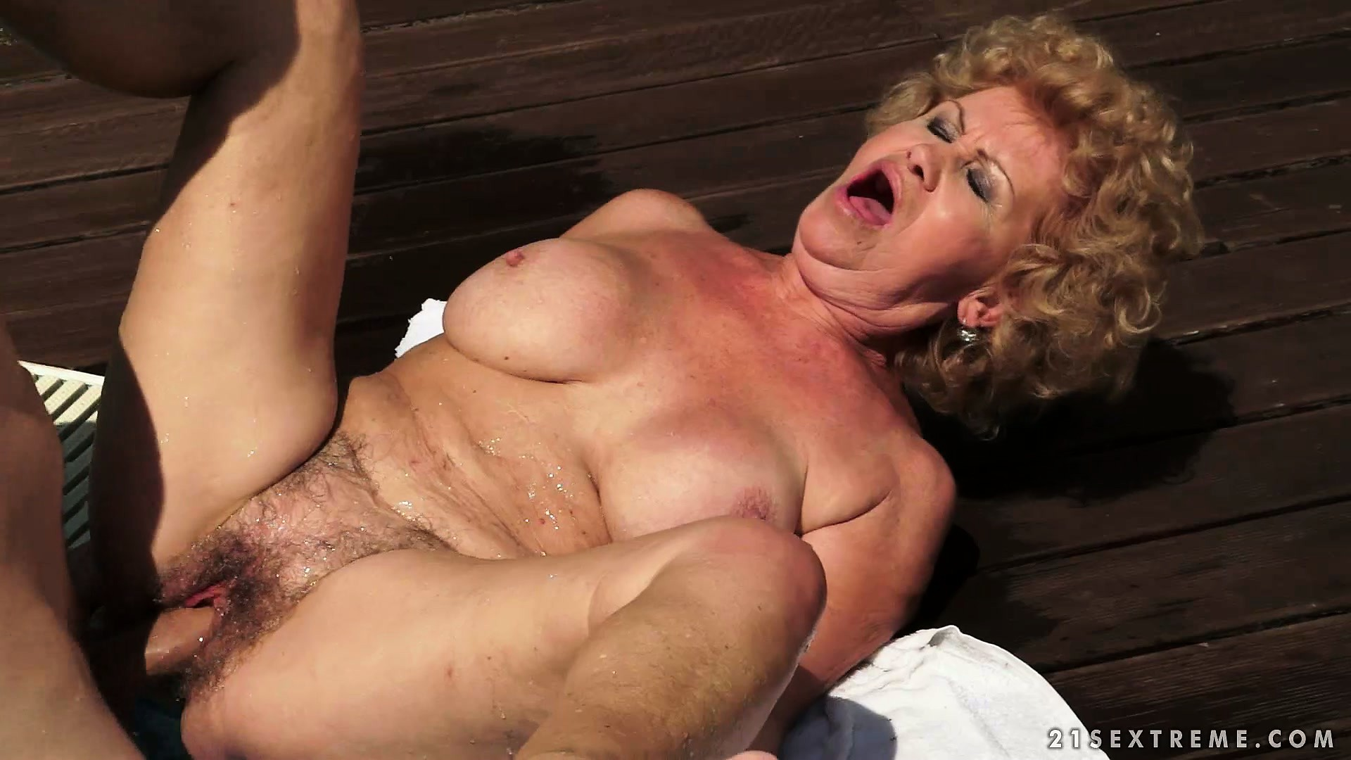 Porno Video of Granny Remembers The Old Days As This Young Stud Bangs Her Hard