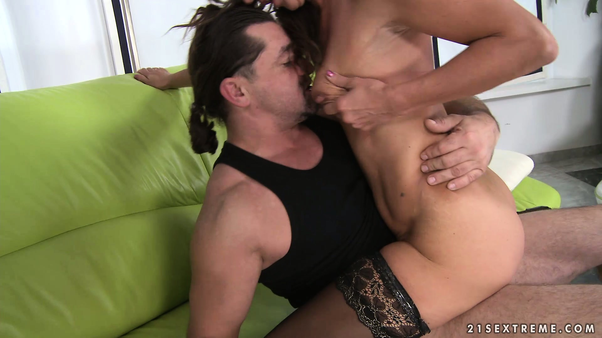 Porn Tube of Sexy Brunette Milf With Tiny Tits Seizes The Chance To Fuck Her Daughter's Boyfriend