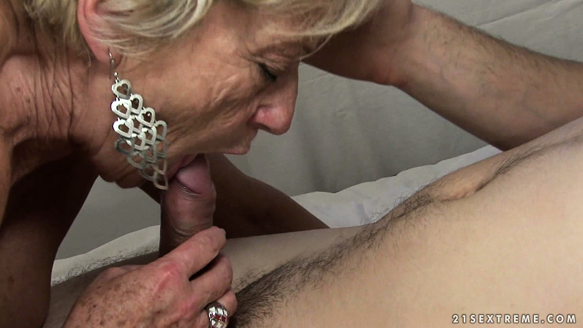 Porn Tube of Granny Couldn't Keep Her Hands Off His Young Body In The Parking Lot And Fucks Him Hard At Home