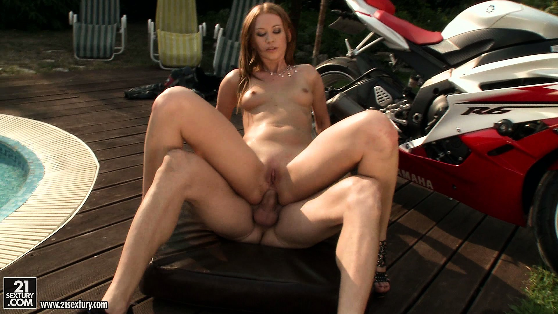 Porn Tube of This Tall Slim Redhead Turns Out To Be A Great Fan Of Hardcore Anal Fucking