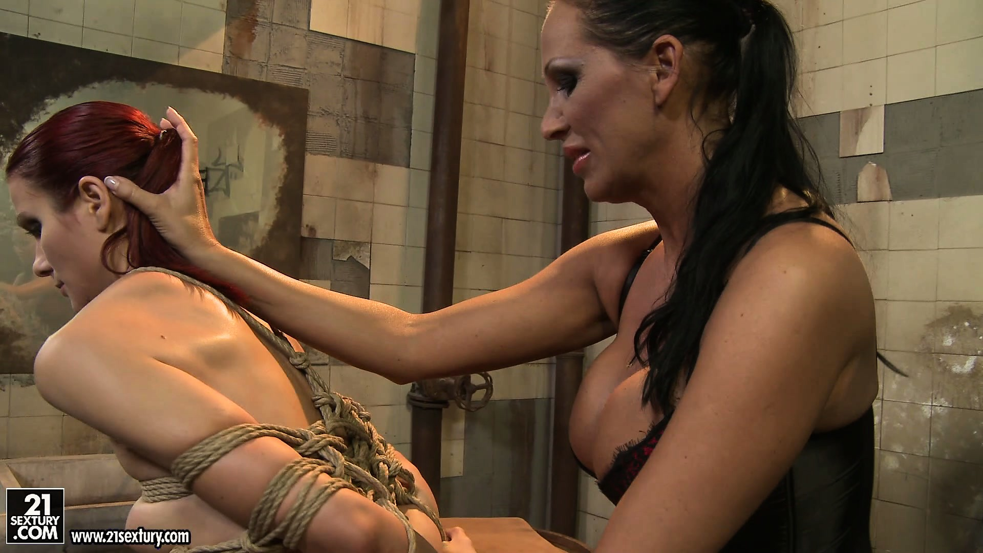 Porn Tube of Mandy's Strict Rules Should Be Followed And Only Then Lucy Will Get Freedom
