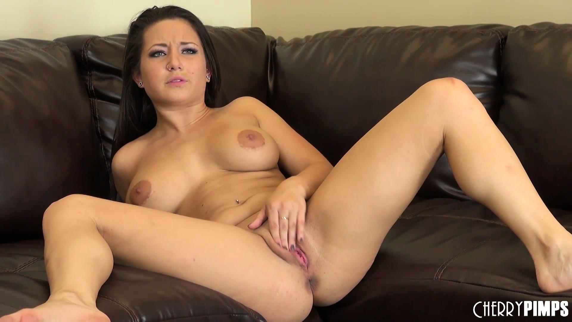 Porn Tube of Charity Spreads Her Lustful Legs Wide Open Showing Off Her Tight Juicy Peach