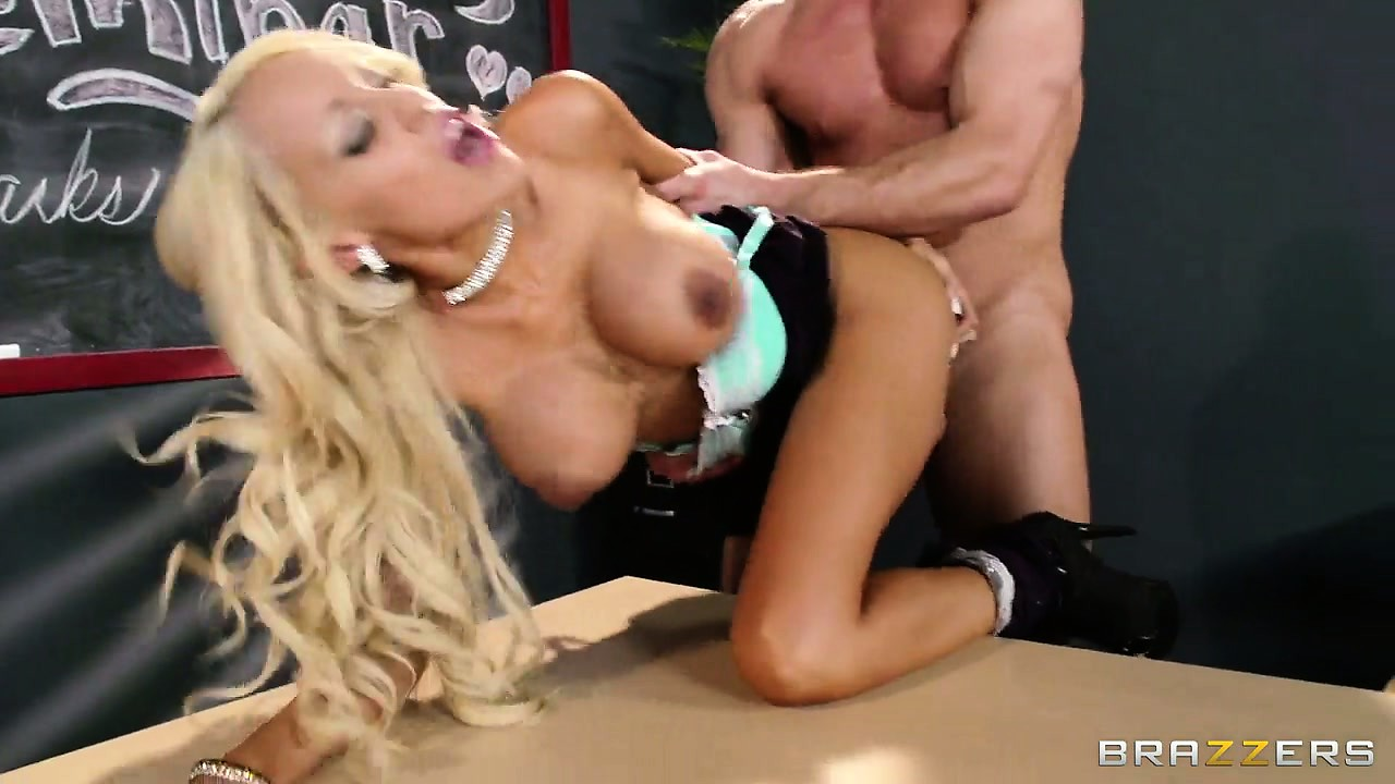 Porno Video of Time To Fuck And Suck The Teacher Over The Desk One More Time