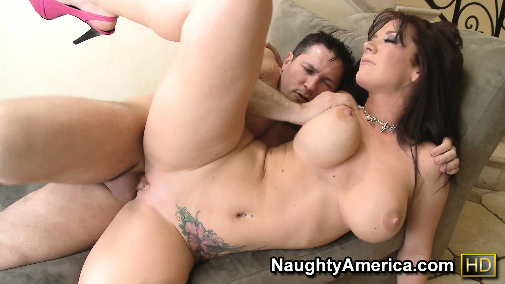 Porno Video of Jayden Jaymes Jiggles Her Big Juggs As He Fucks Her From Behind