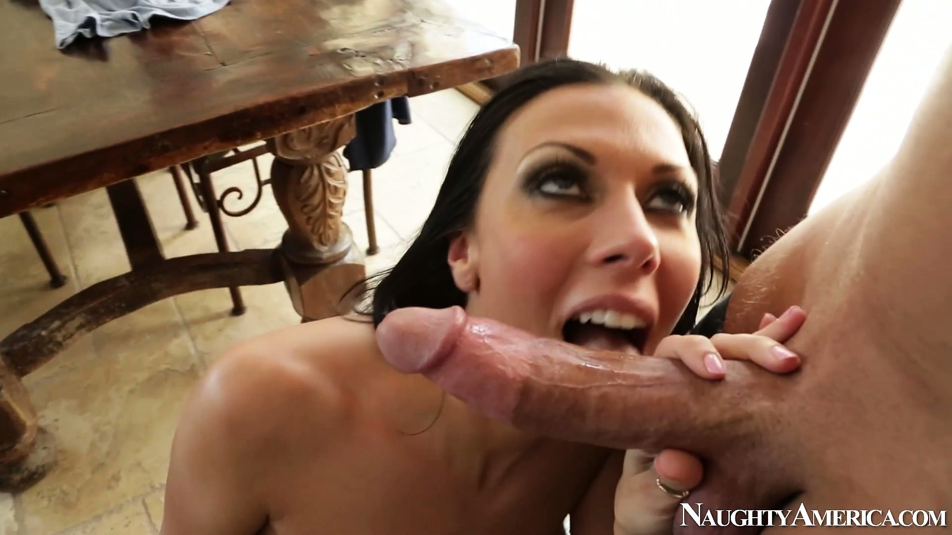 Porno Video of Rachel Starr's Tattooed Twat Is Titillated By His Teasing Tool
