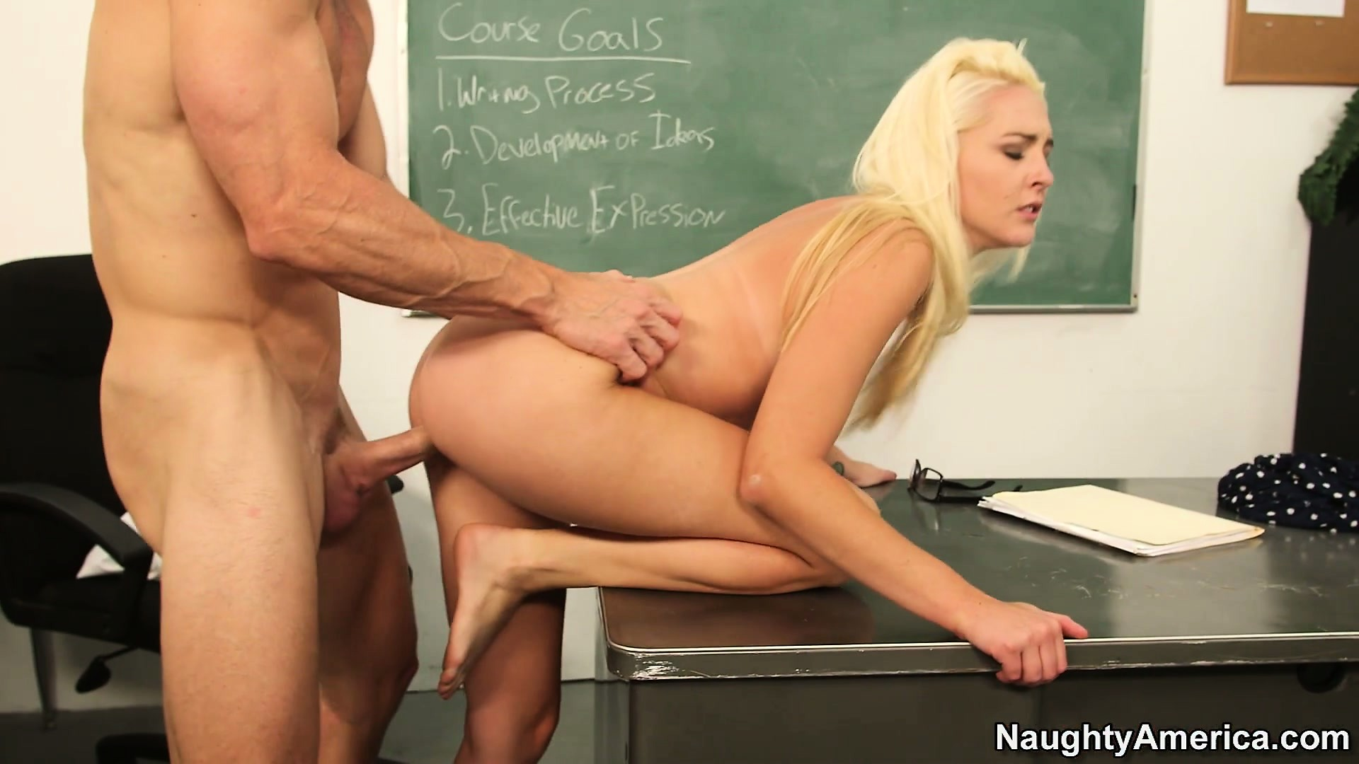 Porno Video of The Tight Pussy Of Sexy Schoolgirl Ashley Stone Delivers Tons Of Pleasure To Her Teacher