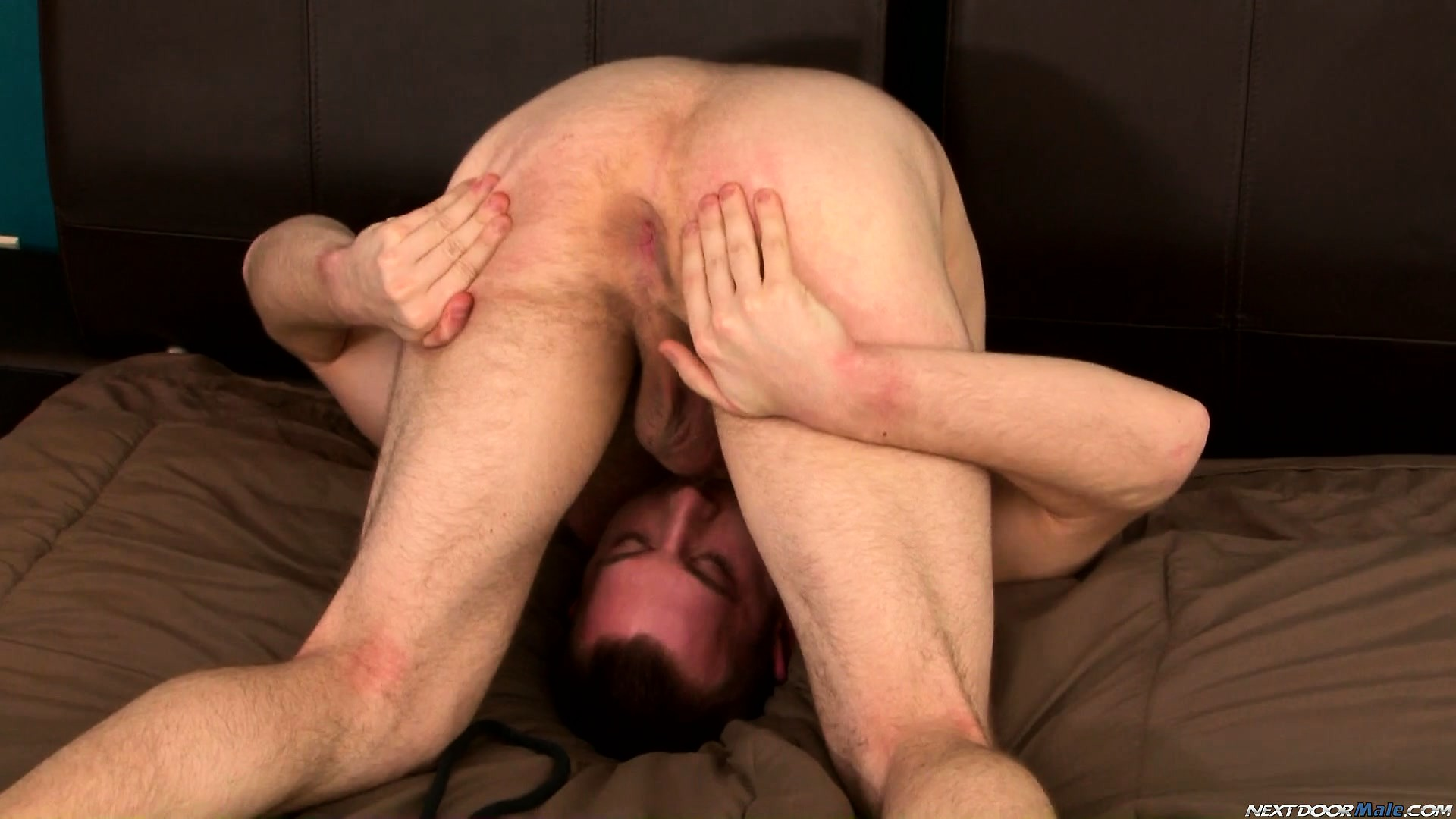 Porn Tube of Hairy Dude Cody Allen Performs Amazing And Irresistible Autofellatio