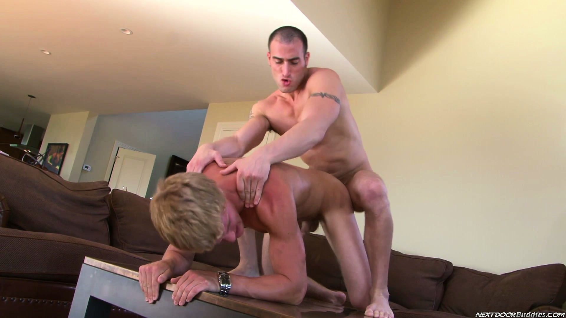 Porno Video of Pale Twink Goes Red When His Lover Bottoms Out In His Tight Ass