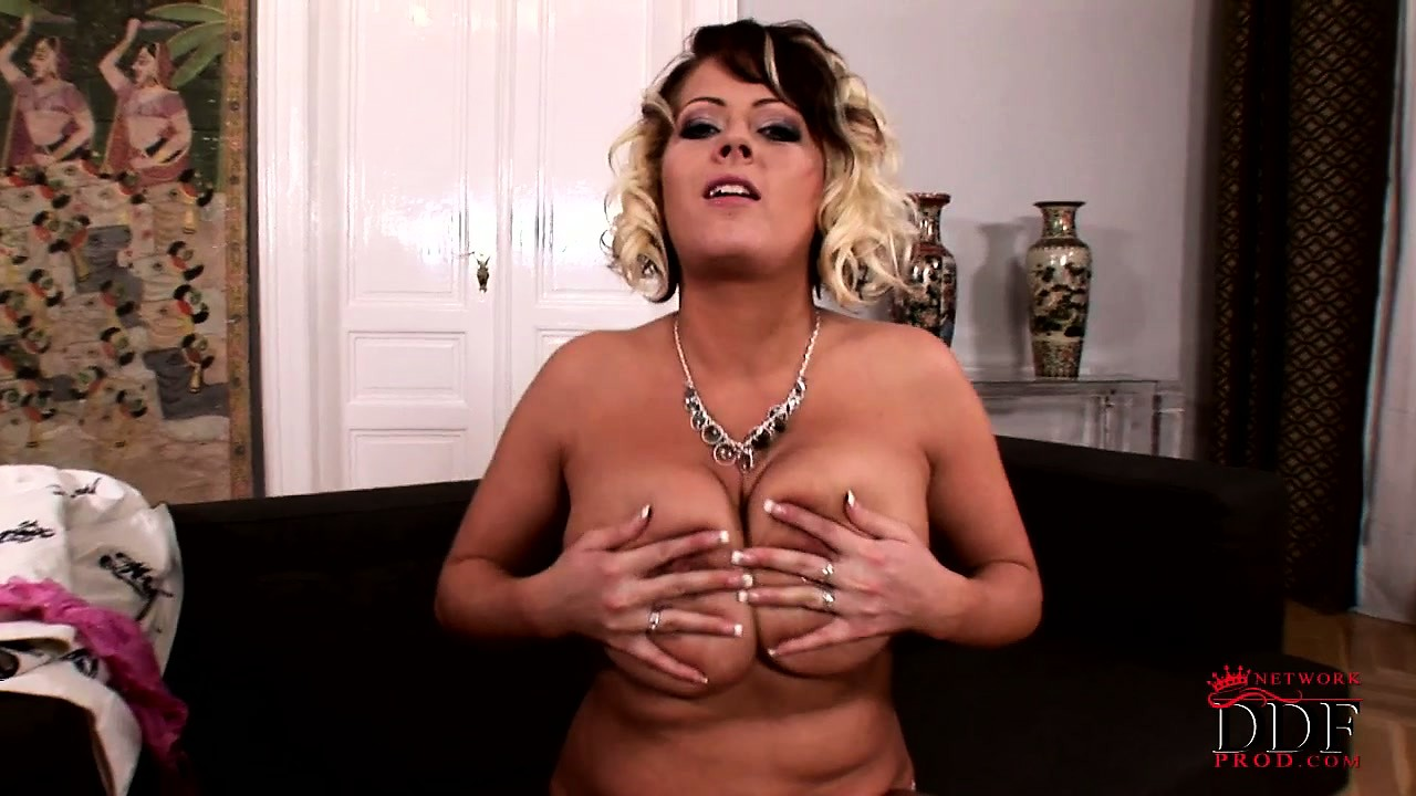 Porno Video of Lovely Milf Lola Loves Playing With Her Big Hooters And Sucking On Her Nips