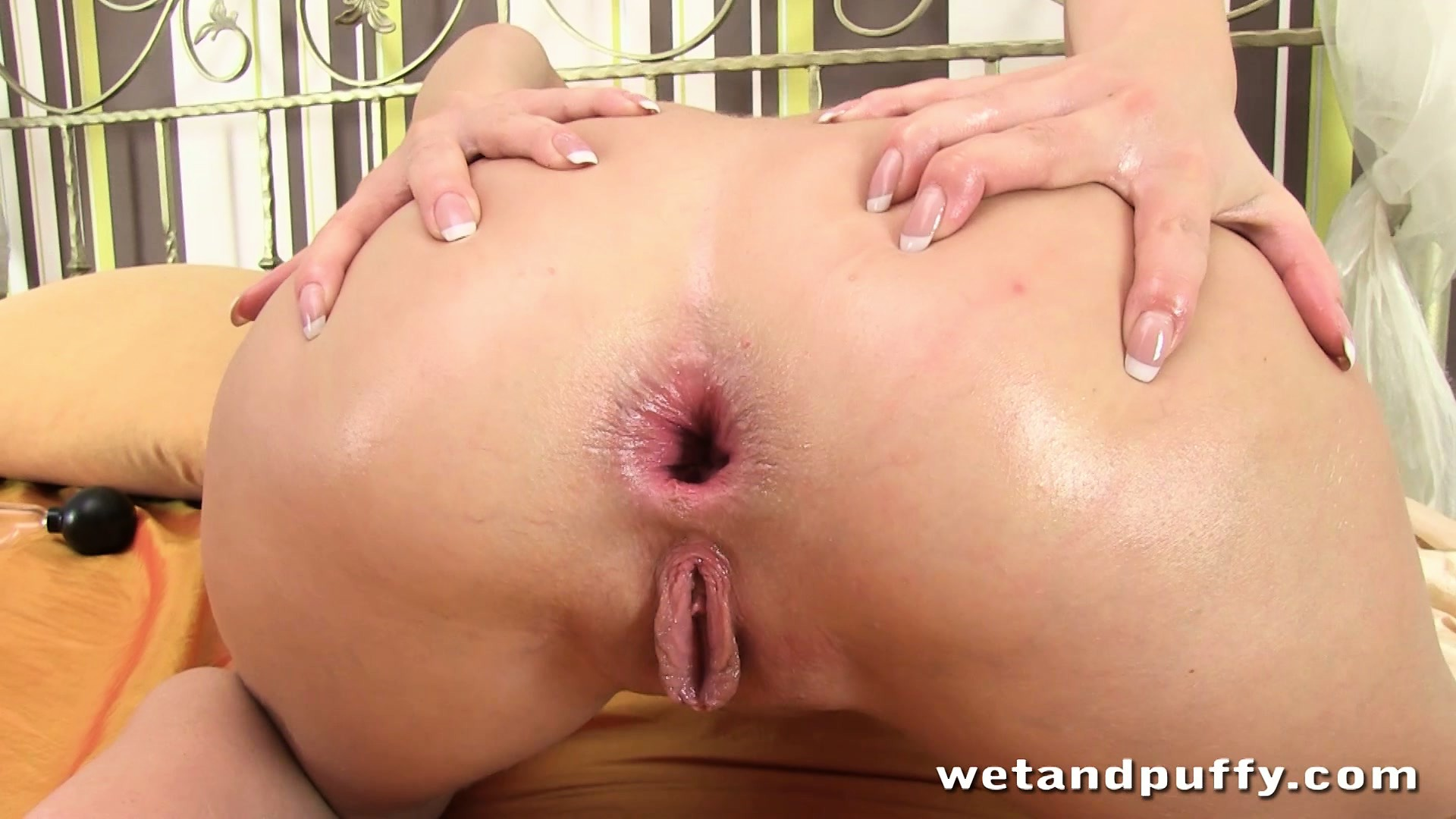 Porn Tube of Her Once Tight Ass Twitches Open After She's Done Brutalizing It