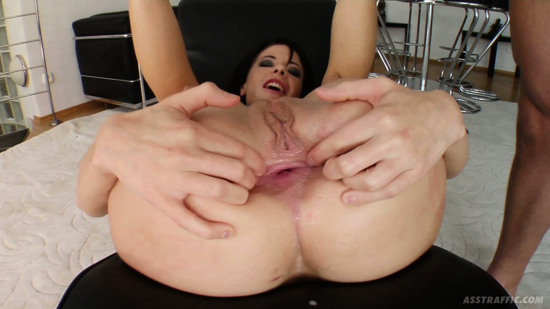 Porno Video of Huge Cock Is About To Stretch Liz's Ass Wider Than Ever Before