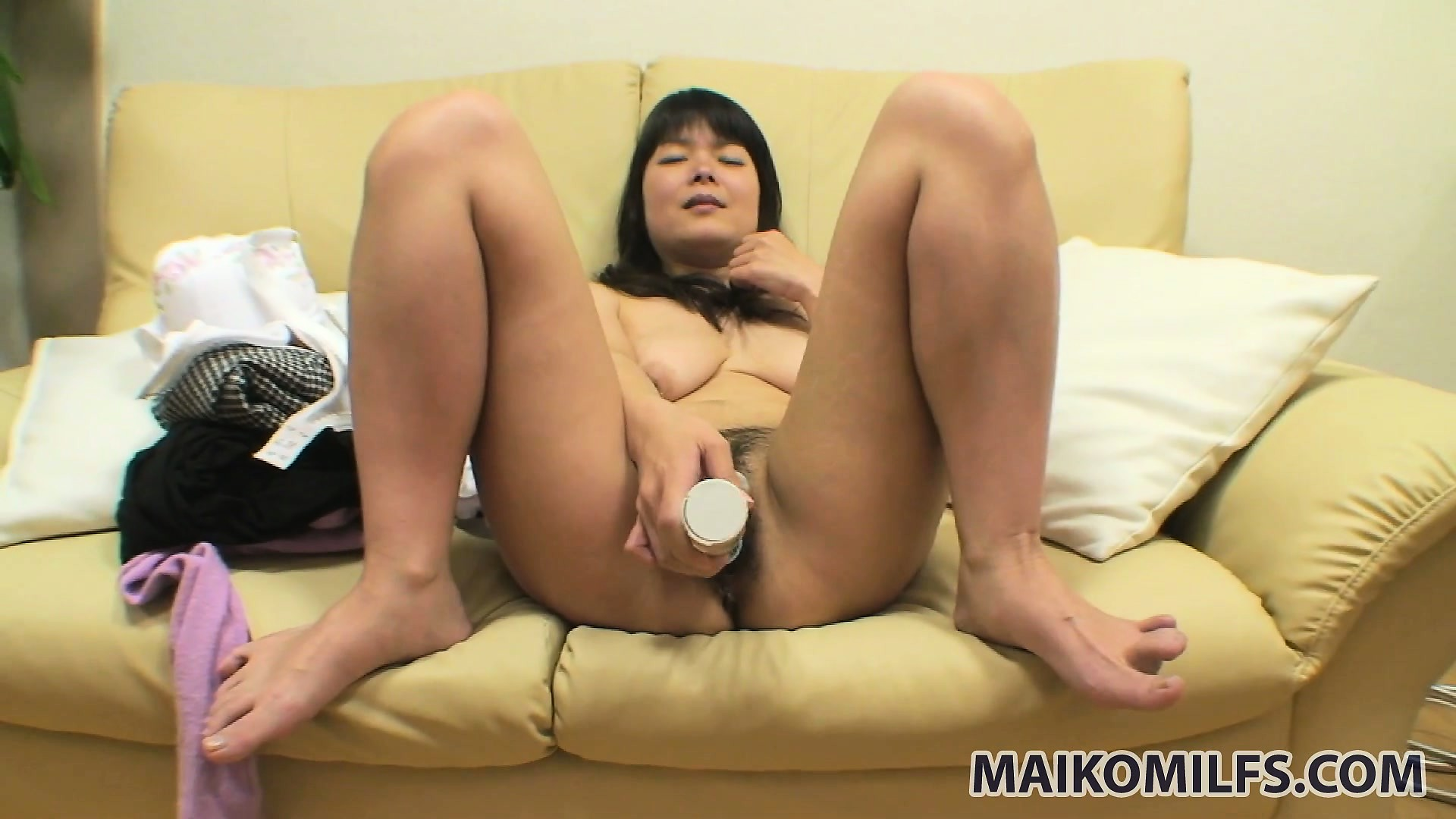 Porno Video of The Milf Sends A Big Dildo Exploring Her Tight Peach And Gets Even More Excited
