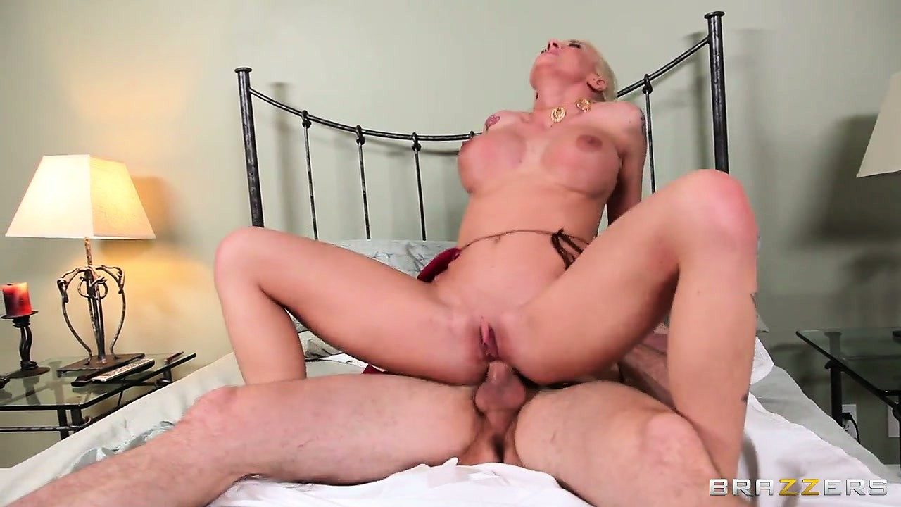 Porn Tube of Riding That Cock Sends A Rush Of Excitement And Bliss Through The Blonde's Hot Curvy Body