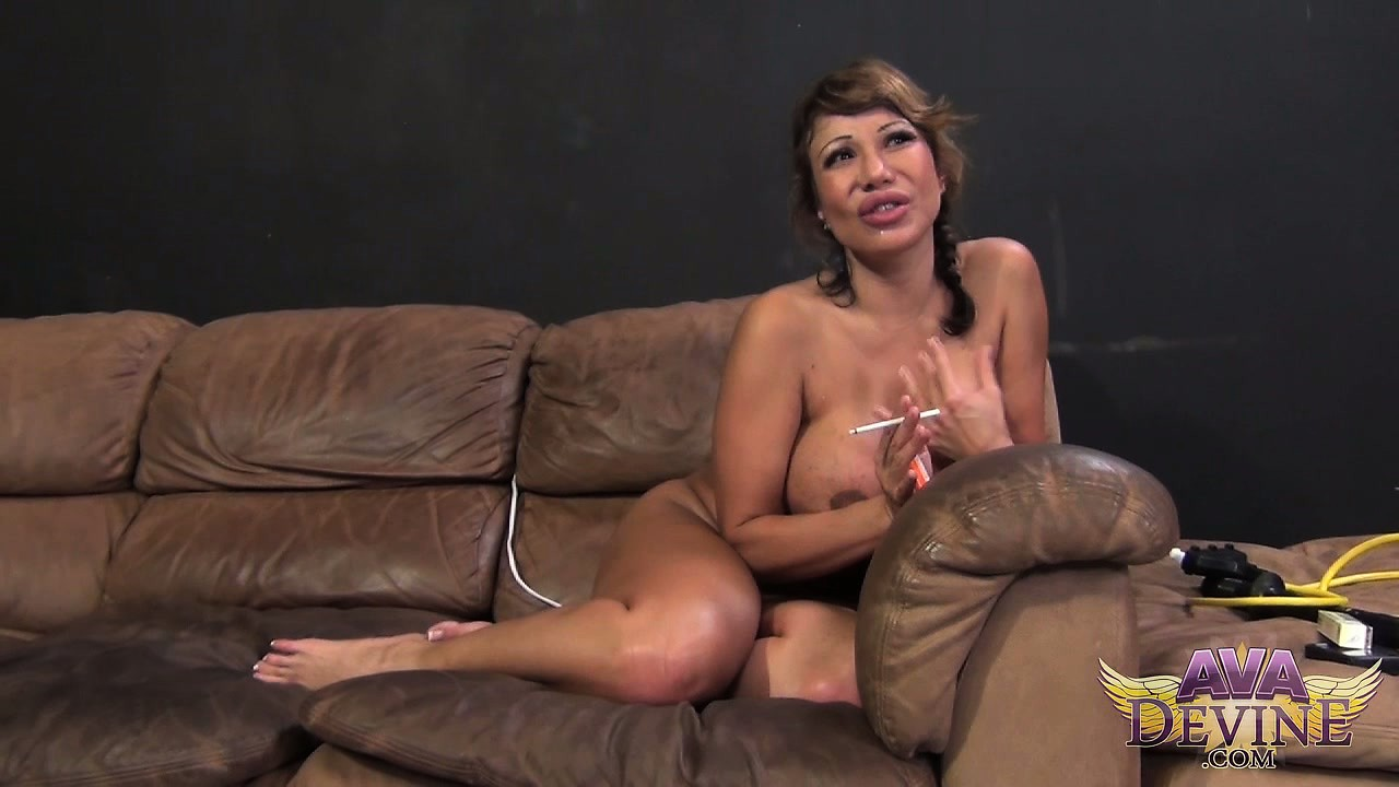 Porn Tube of Ava's Curvy Body Still Trembles With Pleasure As Her Face Gets Covered With Cum