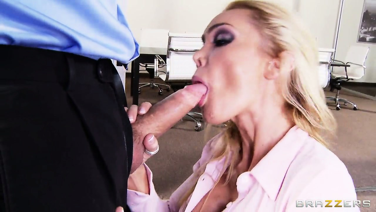 Porno Video of Busty Blonde Secretary Is Eager To Bare Her Breast, Suck Cock And Get Fucked
