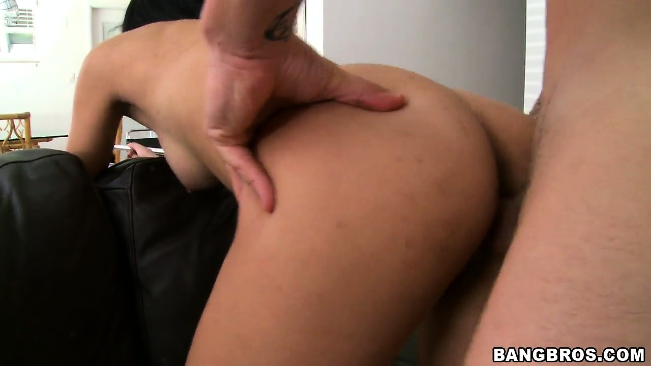 Porno Video of Latina 19 Year Old Sofia Bent Over A Couch And Fucked From Behind