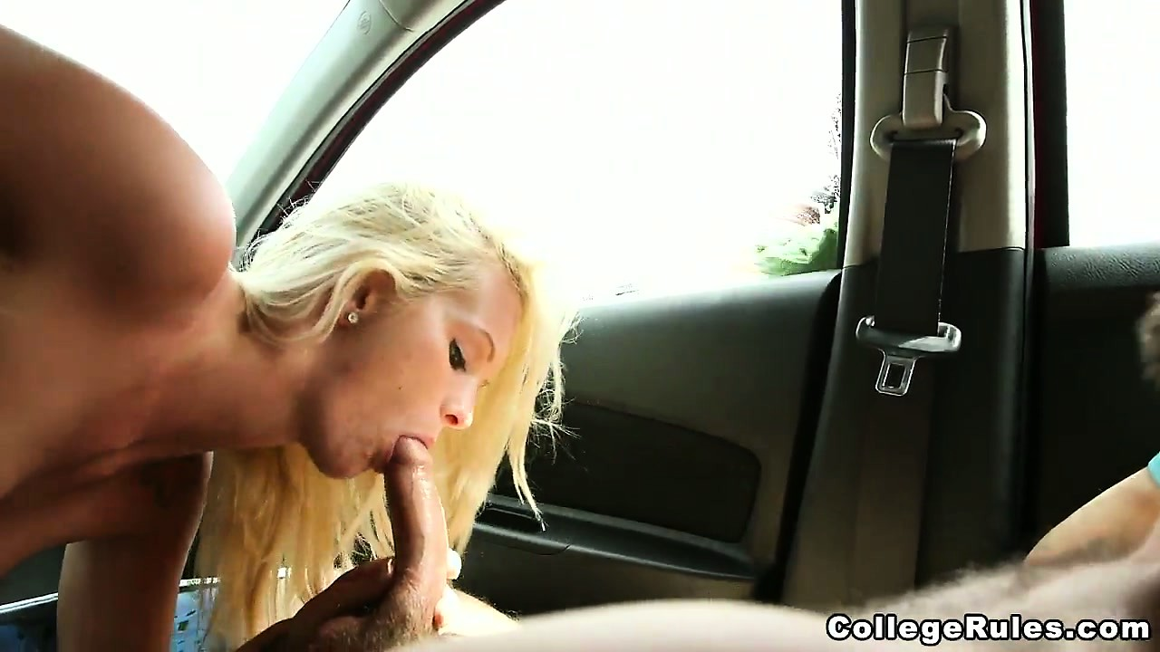 Sex Movie of College Coeds Working Hard At The Car Wash Sucking And Fucking Inside The Cars