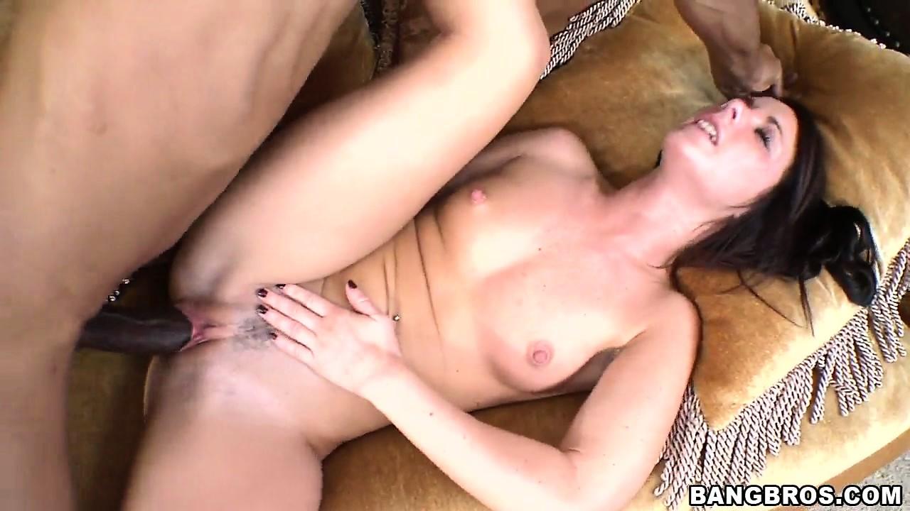 Porno Video of Petite Mia Valentine Getting A Big Hard Black Cock In Her Tight Pussy