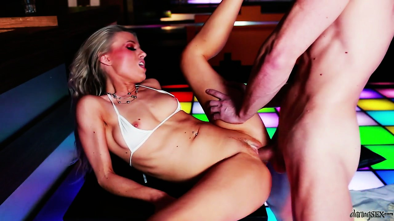 Porn Tube of The Hot Blonde Spreads Her Legs Wide Open Gladly Welcoming That Big Cock Inside Her Snatch
