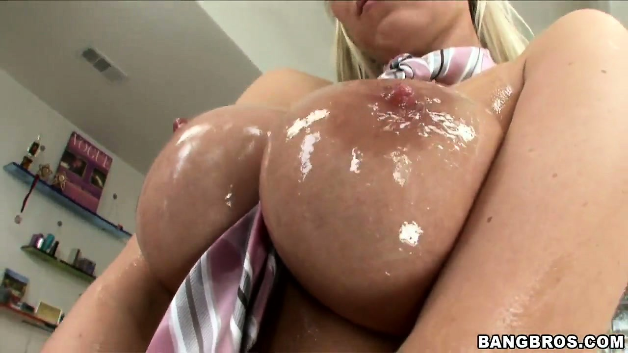 Porno Video of Sweet, Oiled Up Titties And Wet Pussy Make This Hungarian Ultra Horny
