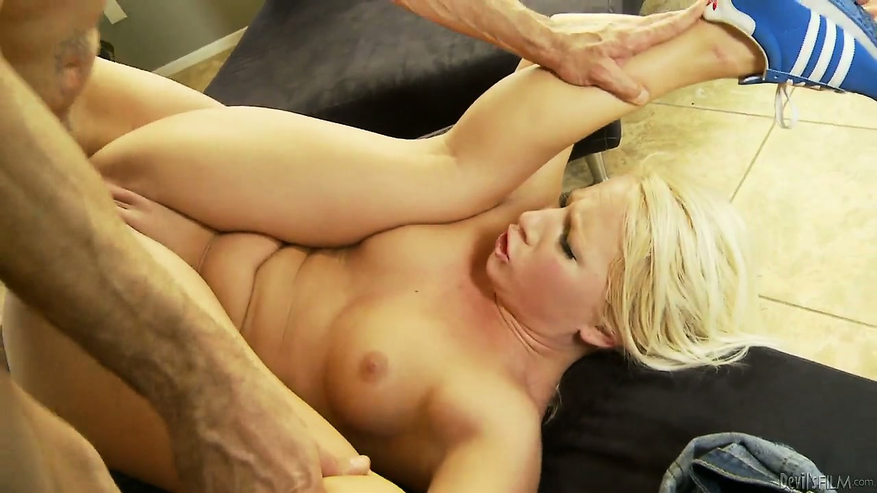 Porn Tube of Classic Banging Act With Charming, Chubby Blonde And Her Hard Stud