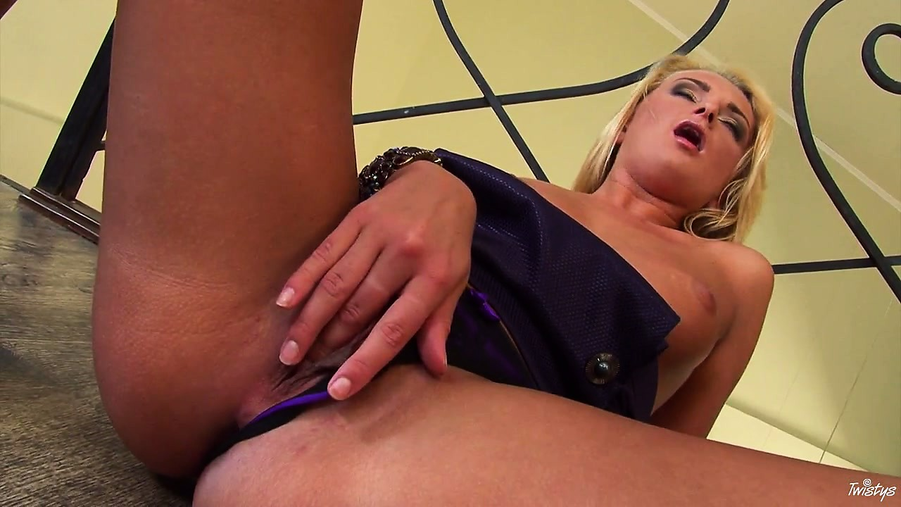 Porno Video of She's Got To Get Those Juices Going Before Using Her Special Toy