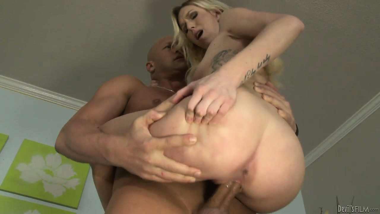 Porn Tube of She Sucks His Peg And He Pegs Her Tight Blonde Pussy, Balls Deep