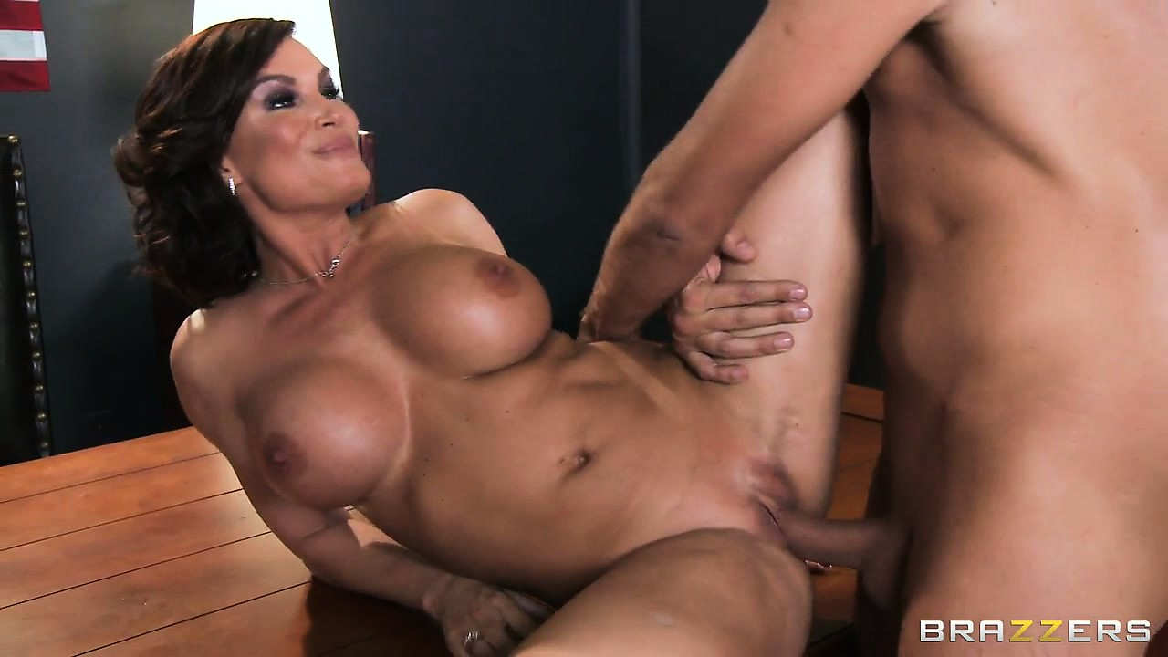 Porn Tube of Cougar With Massive Tits Gets Boned And Left With A Creampie