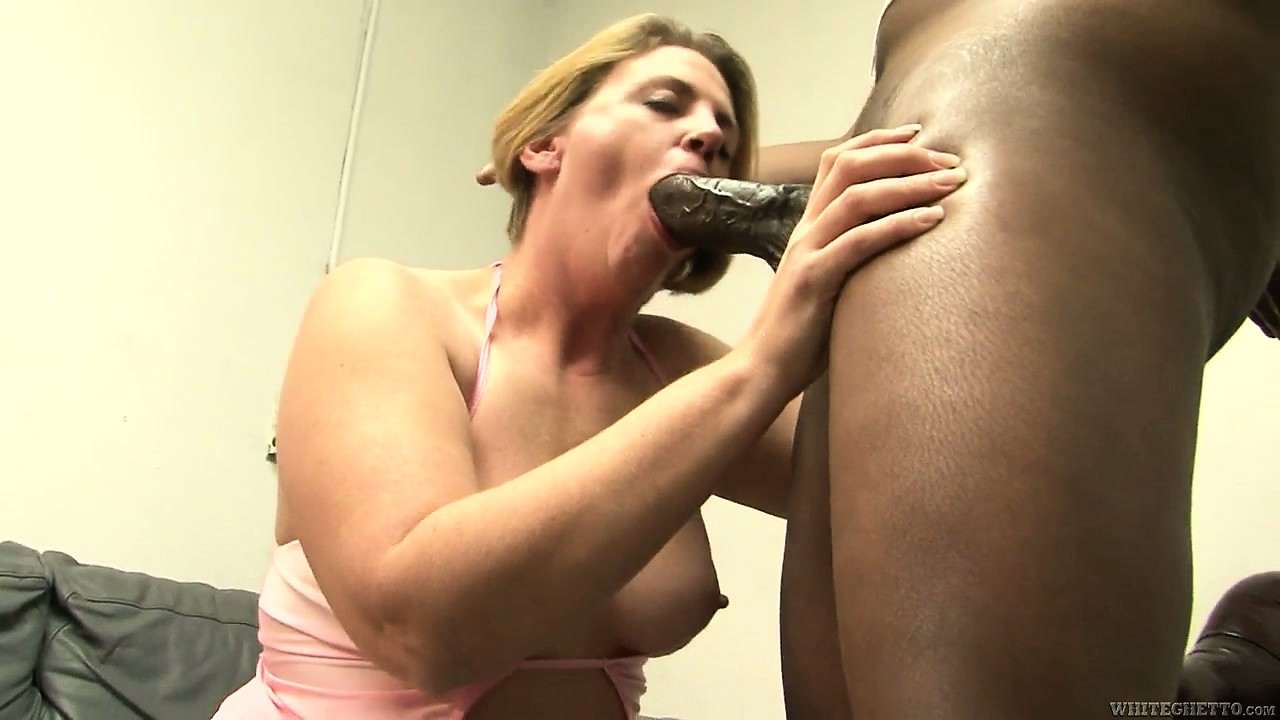 Porno Video of Chubby Blonde Mom Gets Herself A Big Black Rod To Eat After Being Licked