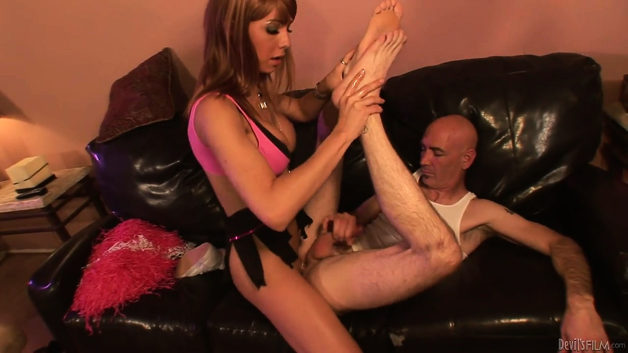 Porn Tube of Horny Tranny Babe Riding Cock After Getting Fucked In His Tight Asshole