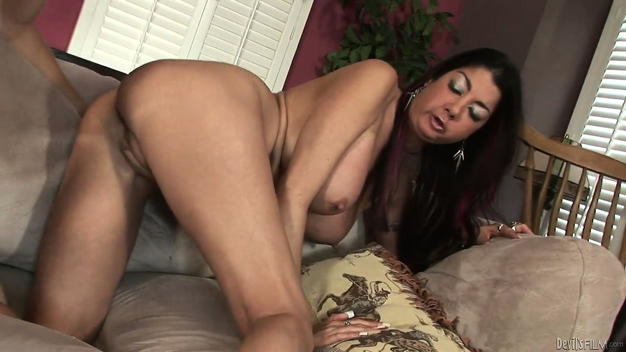 Porn Tube of Well-endowed Latina Is Being Screwed By Young And Lusty Lecher