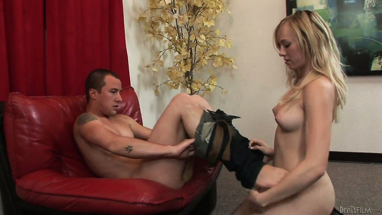 Porno Video of Beautiful Blonde Seductively Strips Her Underwear Revealing Her Gorgeous Tits And Sexy Ass