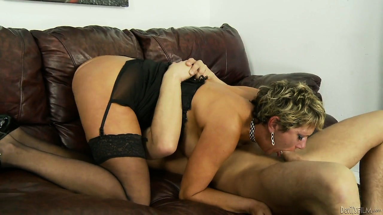 Porno Video of Busty Mature Sits On His Cock And Gets Her Hairy Slit Banged Hard