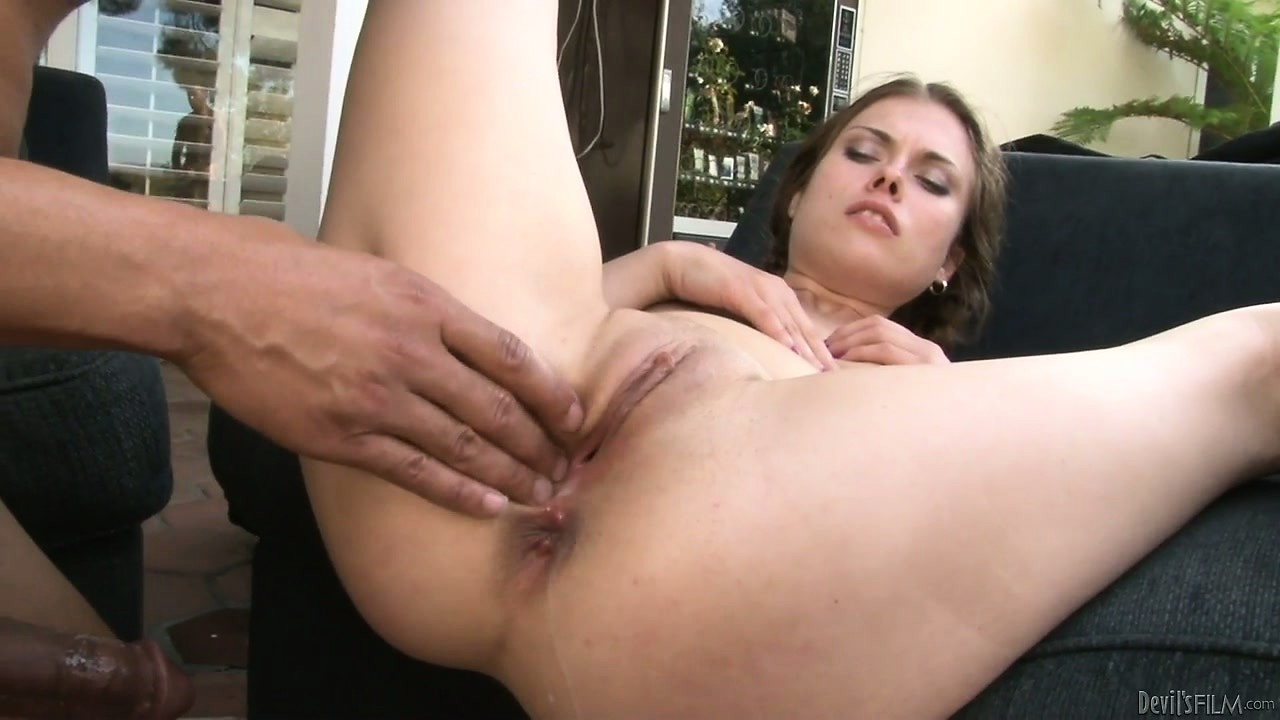 Porn Tube of Eager To Get Her Promised Creampie This Bitch Takes Bbc In All Her Holes