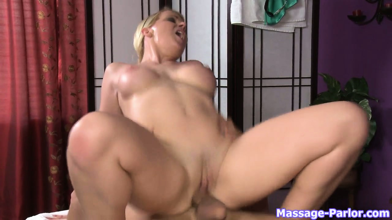 Porno Video of Busty Blonde Massage Therapist Wraps Her Tits Then Her Pussy Around His Dick