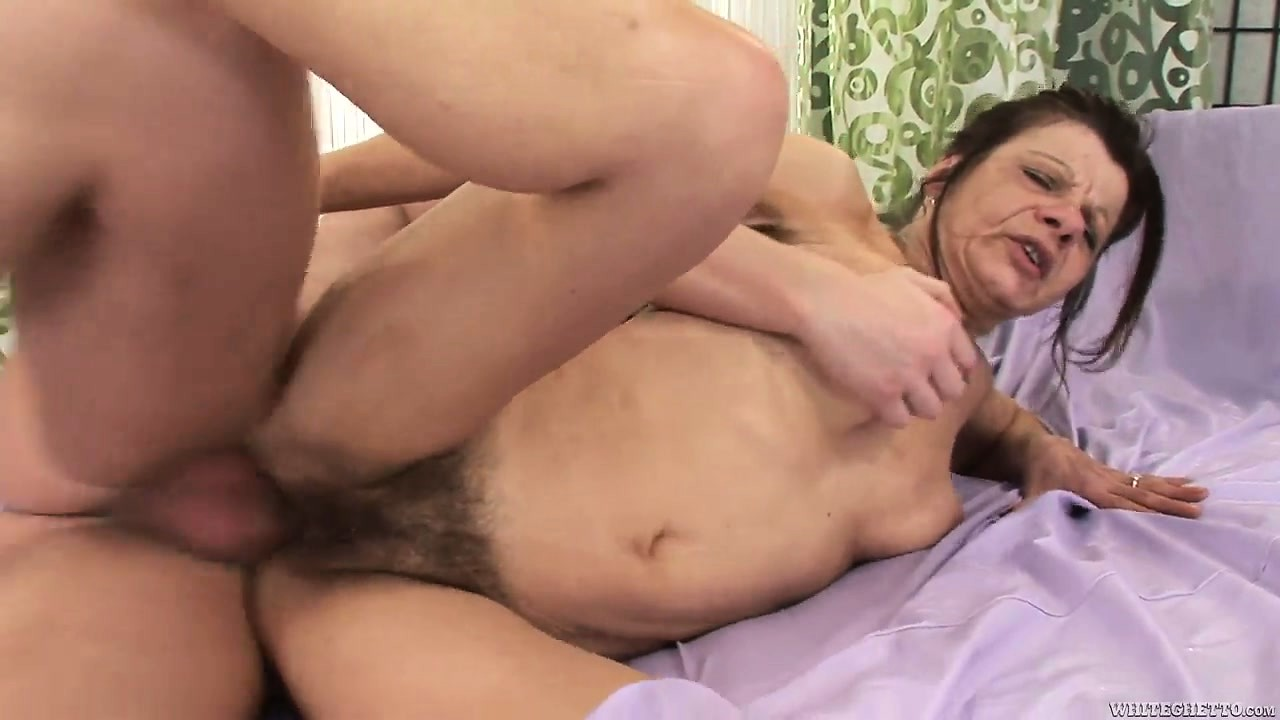 Porno Video of Every Pore Of Her Body Sighs With Excitement As Her Hairy Snatch Gets Drilled