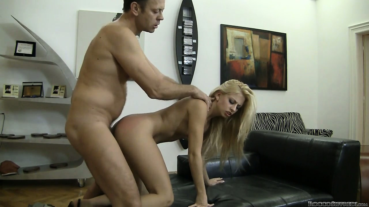 Porno Video of Rocco Begins With Fucking Tight Pussy And Then Moves To The Yummy Ass