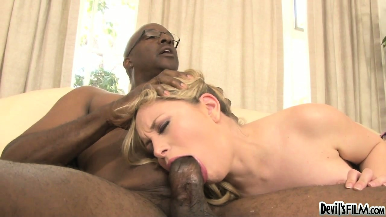 Porn Tube of After The Hot Blonde Aiden Starr Sucks A Huge Black Meat Pole She Gets Her Pussy Licked