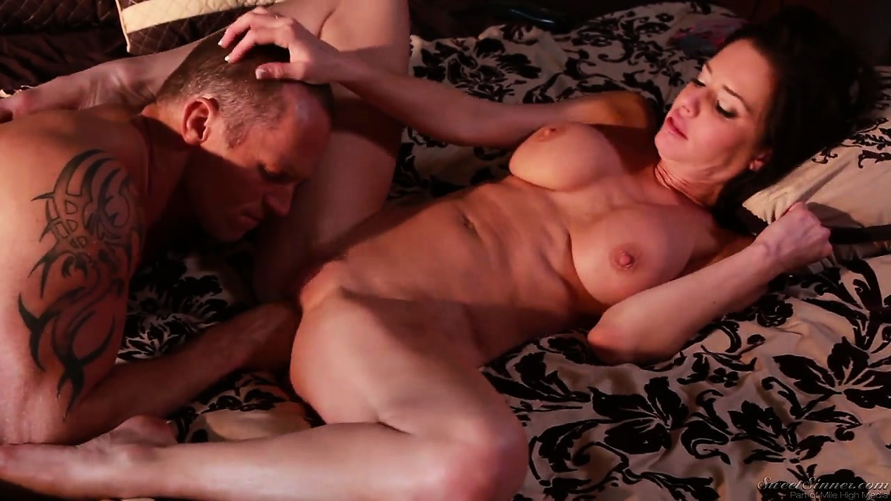 Porno Video of His Mother's Best Friend Is A Busty Brunette Milf That Loves Hard Cocks
