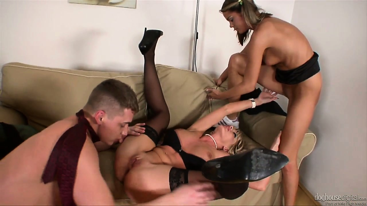 Porno Video of Barely Legal Cutie Gets Double Teamed By A Lustful Married Couple