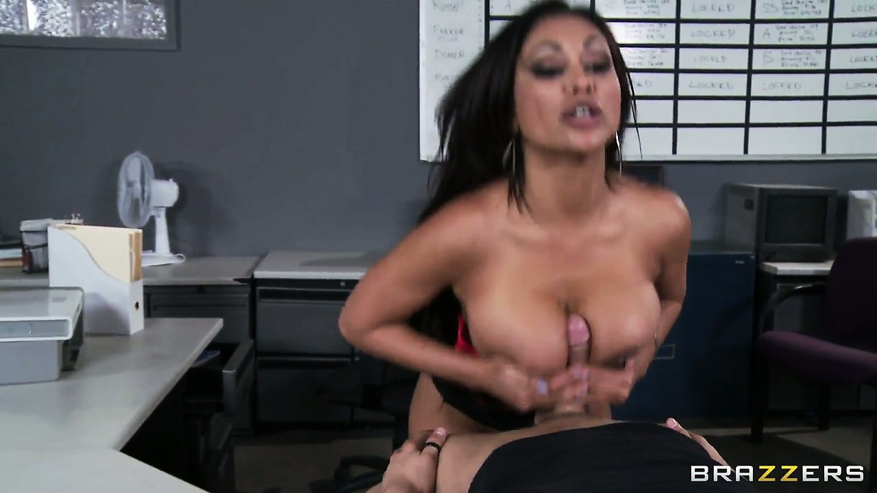 Porno Video of She Hops On And Rides, Boobs Flapping, Blows And Gives A Titty Fuck