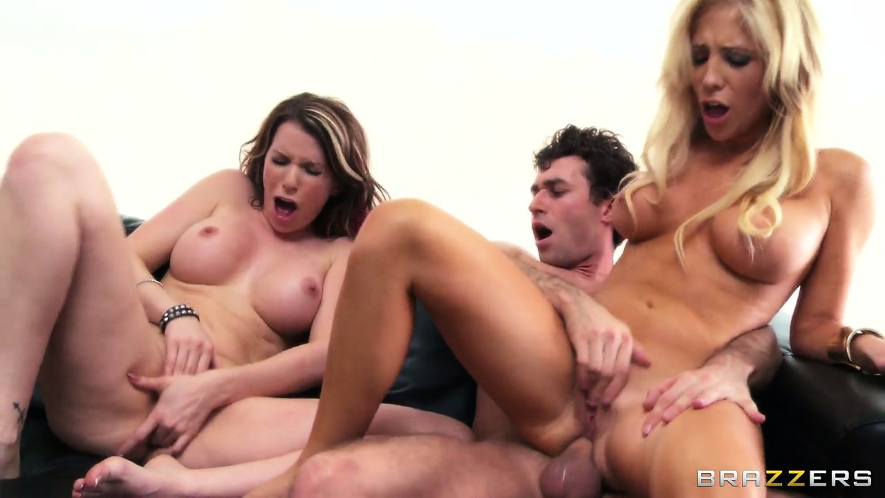 Porn Tube of Their Hot Bodies Still Tremble With Pleasure As He Unloads His Cum On Their Pretty Faces