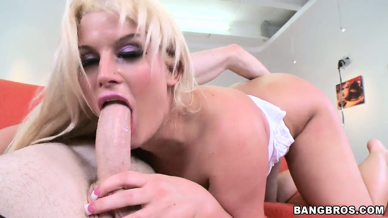 Porn Tube of Sweet Blonde Whore Getting Her Tight Muff Slammed By A Thick Cock