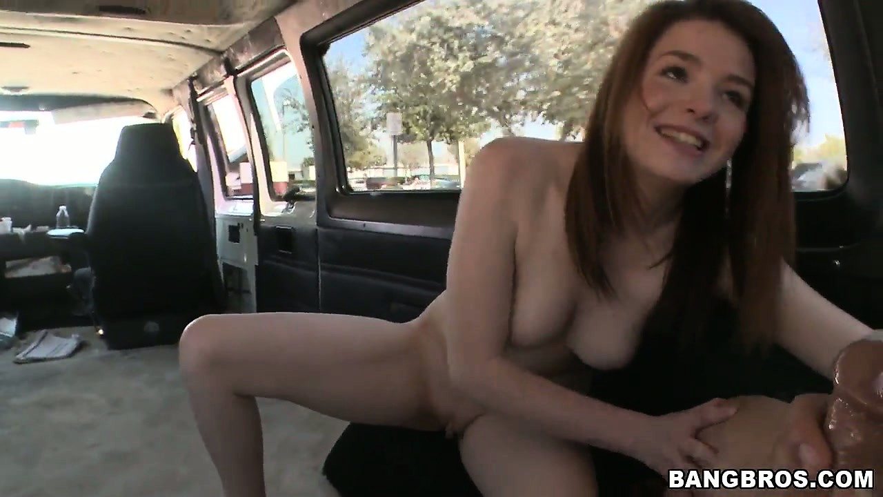 Porno Video of Skinny Redhead Gives A Good Blowjob Before Taking It Doggy Style
