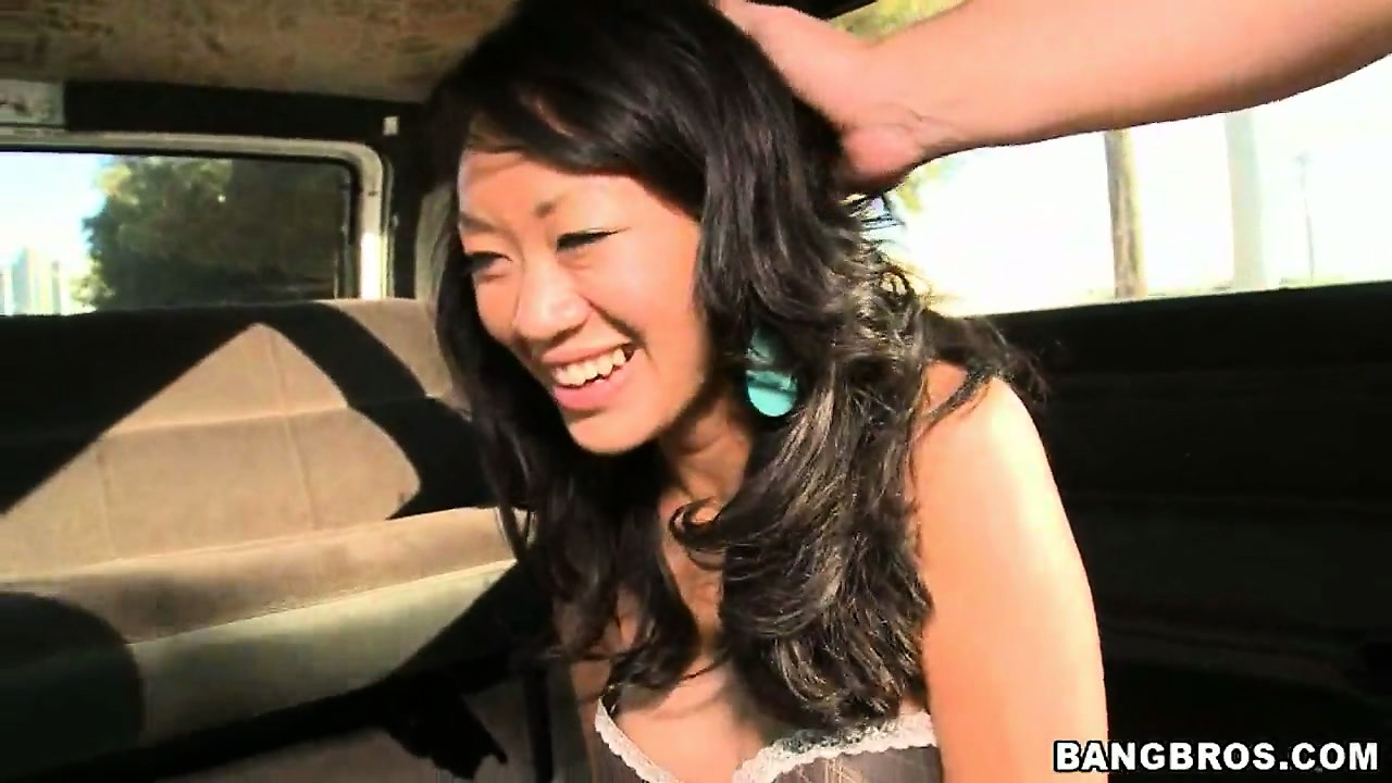 Porn Tube of Naughty Oriental Babe Finally Gets Naked And Gets The Full Monty Asian Delight On The Bang Bus