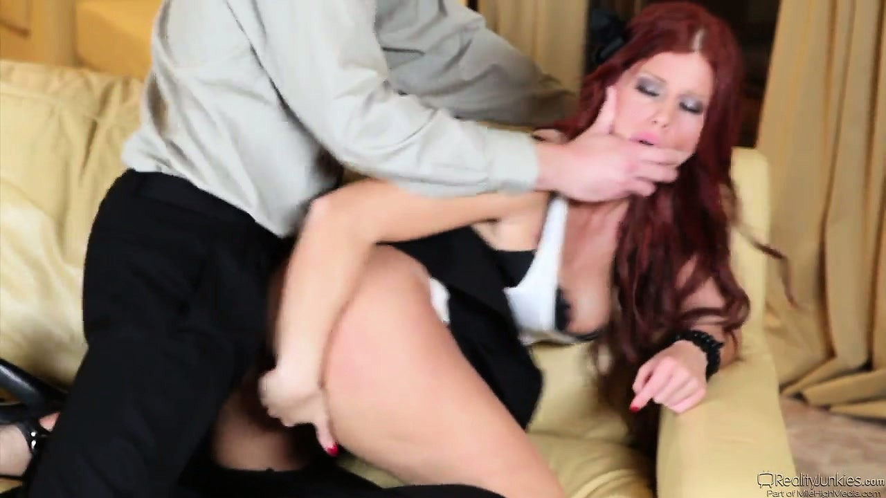 Porn Tube of Naughty Redheaded Babysitter Shows Daddy Her Skills At Sucking And Fucking