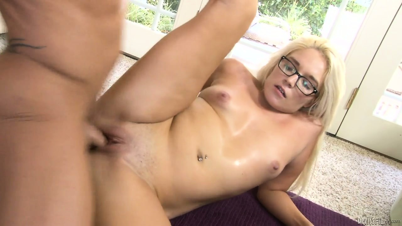Porn Tube of Gifted Blond Girl Is Showing The Talents She Has Developed In This Scene