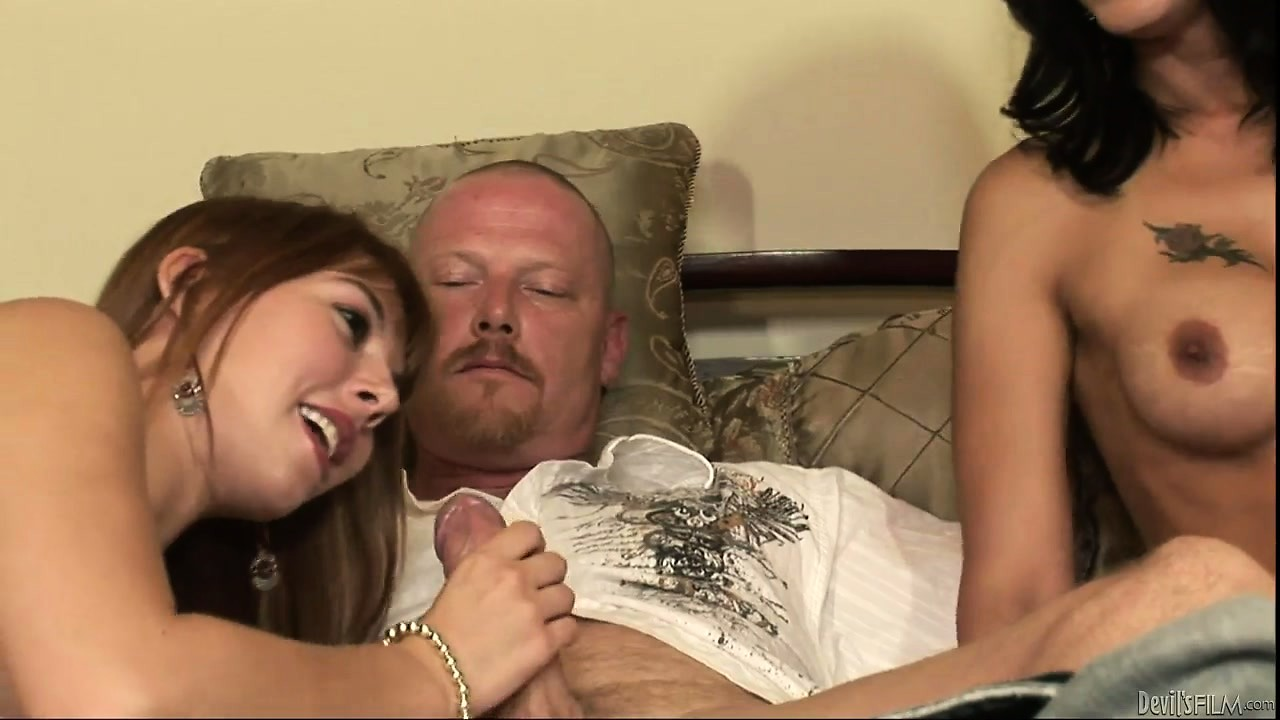 Porno Video of Mom Says She's A Better Cock Sucker And Challenges Her Daughter