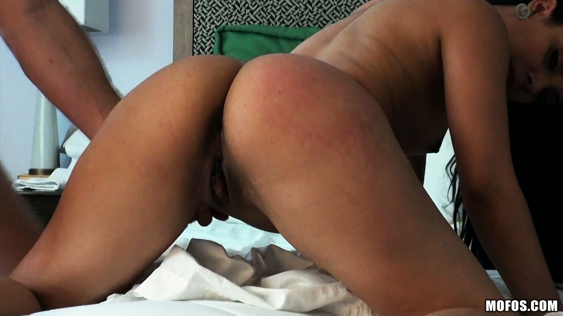 Porno Video of Then She Sticks Her Ass Up And He Starts Banging Her Doggy Style