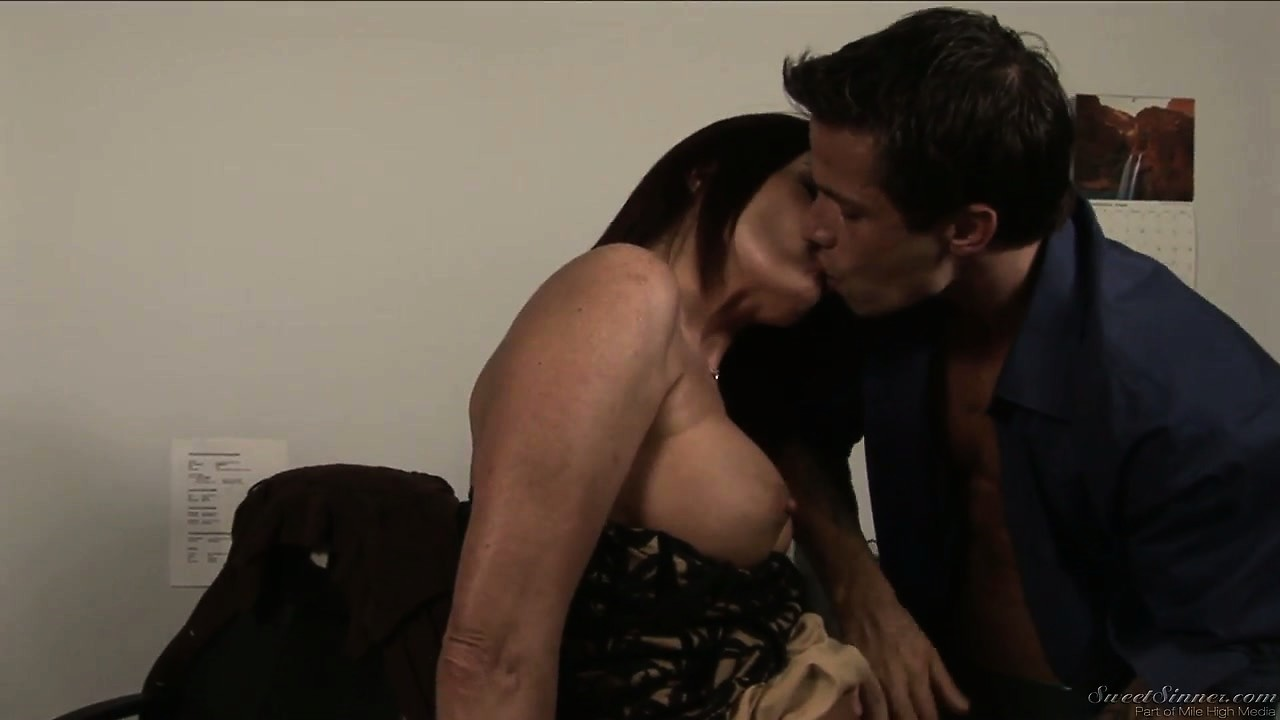 Porno Video of Gorgeous Milf Brunette Seduces The Young Stud In Order To Fulfill Her Needs